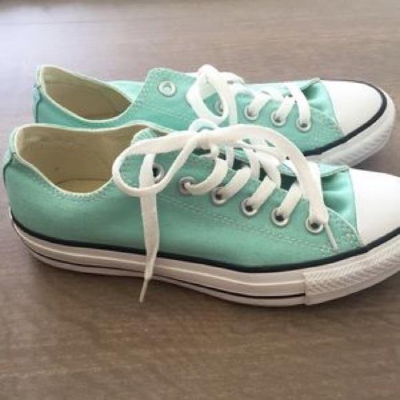 Converse Shoes | Mint Green Converse